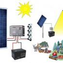 Pachet fotovoltaic pentru iluminat