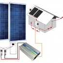 Pachet fotovoltaic on-grid 0,5 kW