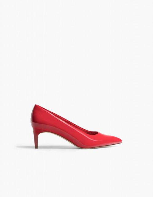 Poze Stradivarius Shinny Red Shoes