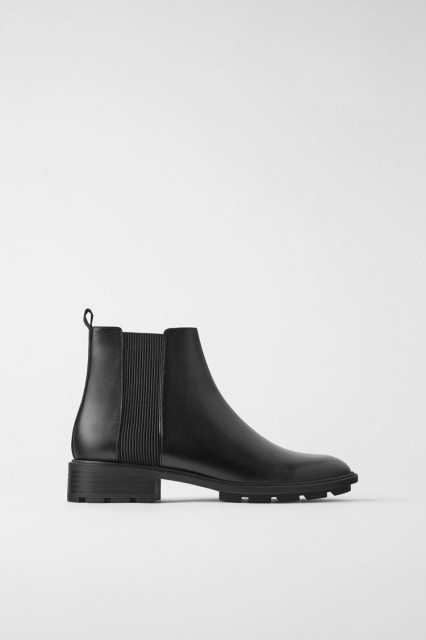 Zara Ankle Boots Elasticated