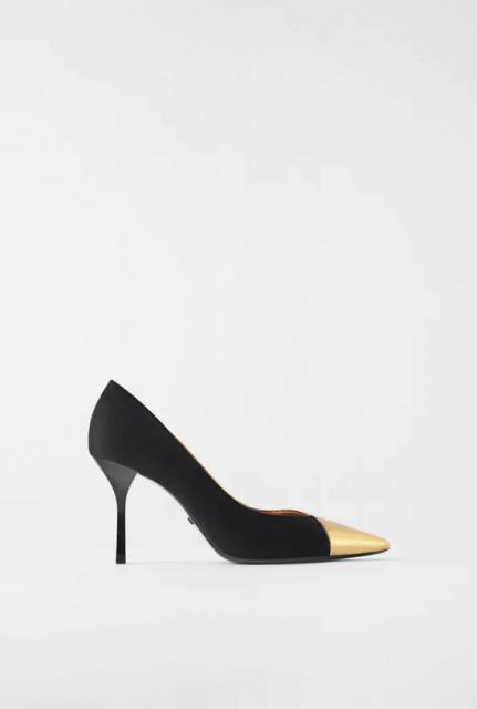 Zara CombinedGoldenShoes