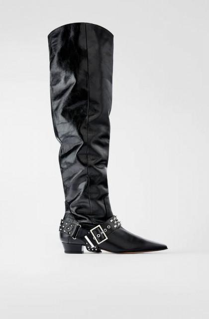 Poze Zara LeatherVintageBoots
