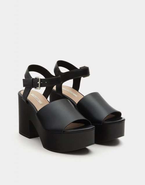 Poze Pull&Bear High Heel Platform Sandals