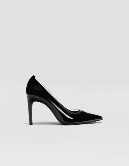 Poze Stradivarius Black Pump Shoes
