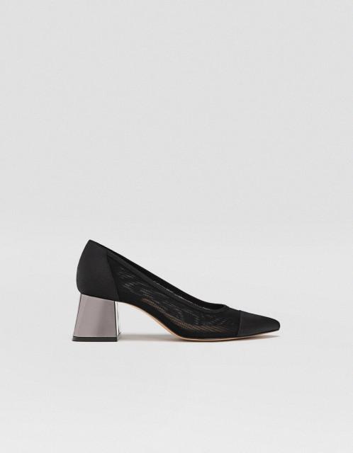 Poze Stradivarius Nero Court Shoes