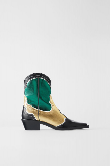 Zara ColourCowboyBoots