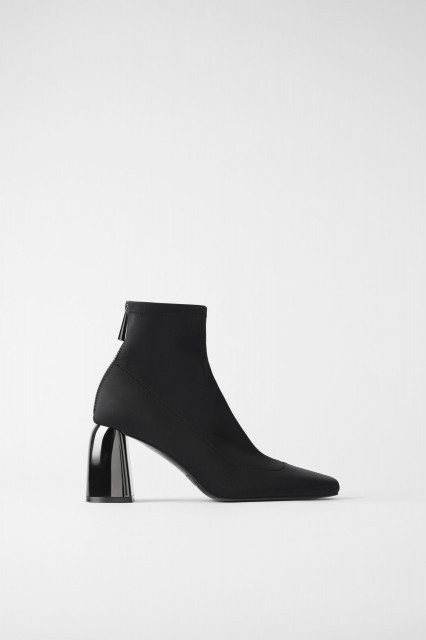 Zara ContrastAnkleHeel