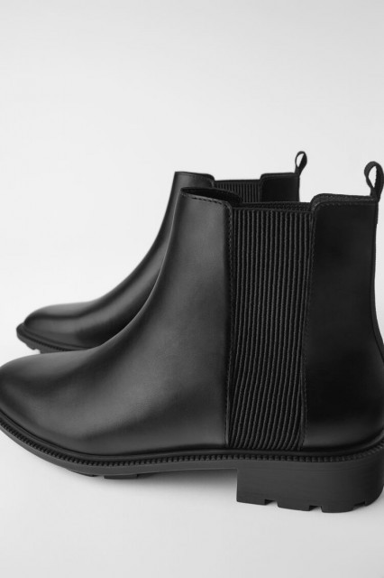 Poze Zara Ankle Boots Elasticated