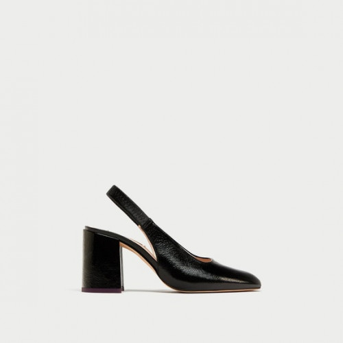 Zara LeatherBasicShoes