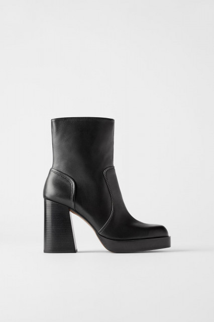 Zara PlatformAnkleBoots