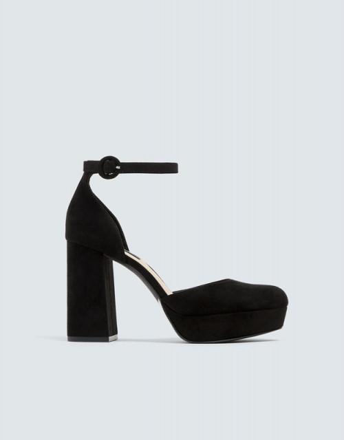 Poze Pull&Bear Ankle Platform Shoes