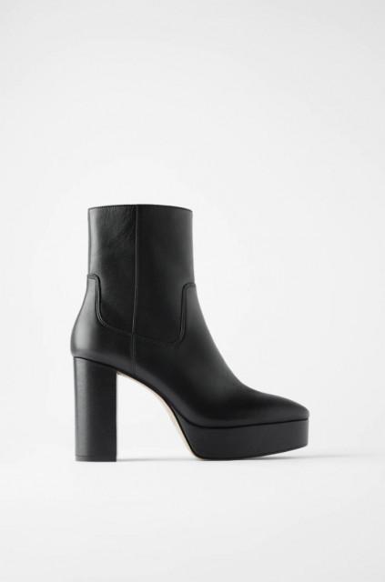 Zara PlatformLeatherBoots