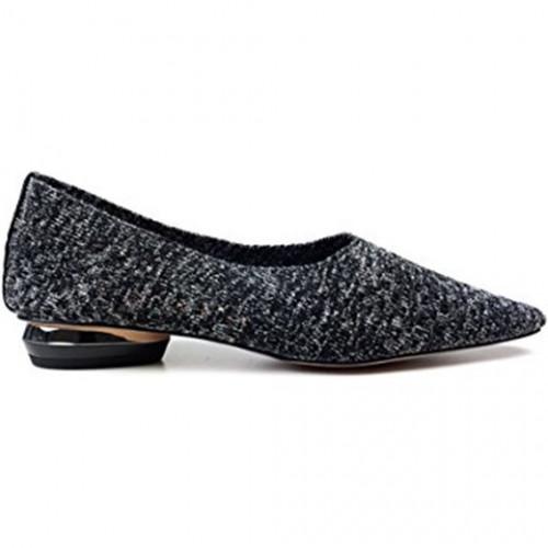 Zara SilverFabricShoes