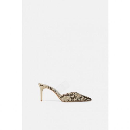 Poze Zara Vinilo Printed Heel