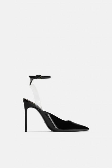 Poze Zara Vinyl Over Ankle Sandals