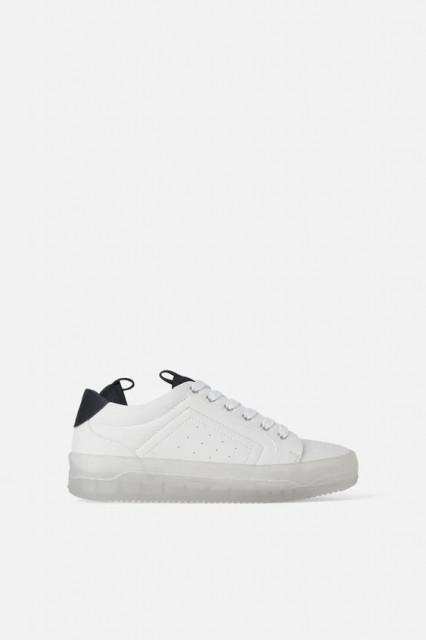Zara WhiteSoleSneaker