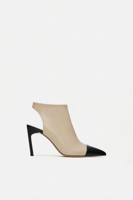 Poze Zara Botin Slingback Toe