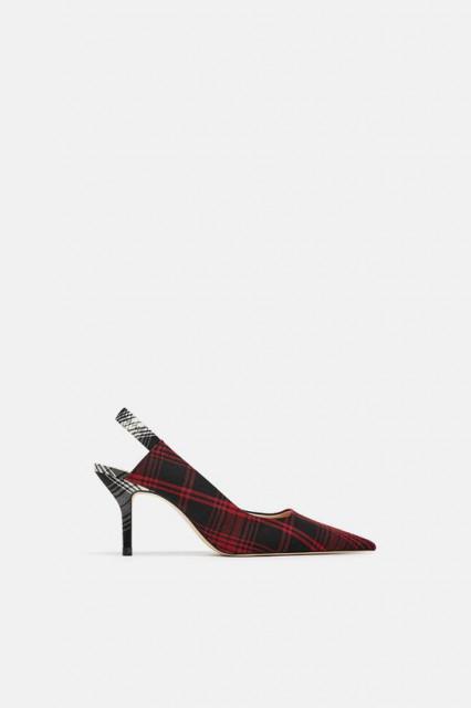 Poze Zara Checked Fabric Court