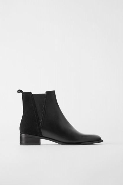 Poze Zara Contrast Low Heel