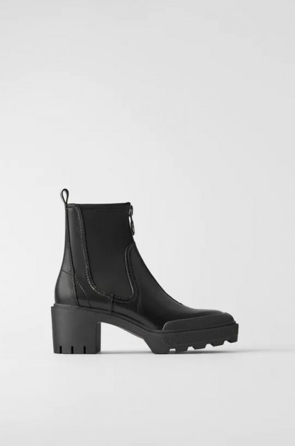 Zara Flat Strech Ankle