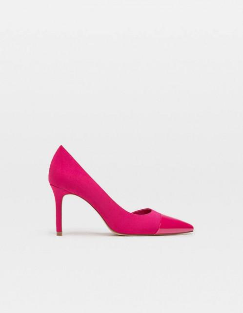 Poze Stradivarius Fuchsia Shoes