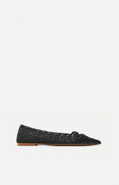 Zara BraidBlackShoes