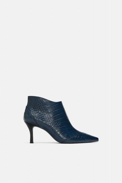 Zara Crock Azul Botin