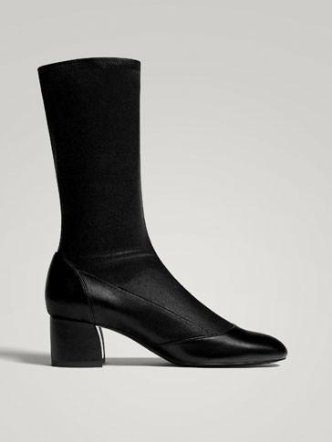MassimoDutti Nero Nappa Leather