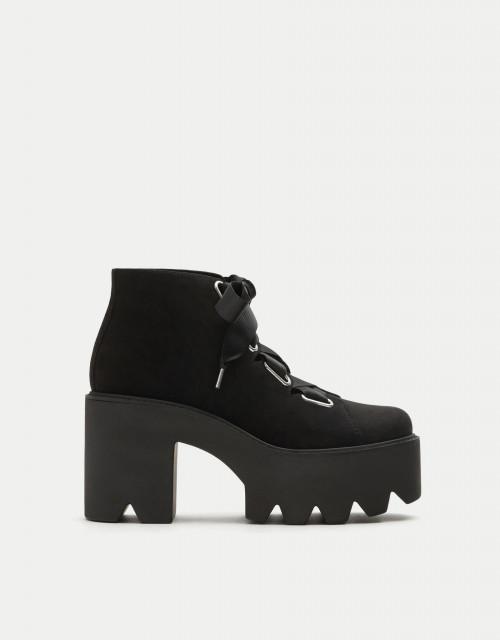 Poze Pull&Bear PlatformBlackShoes