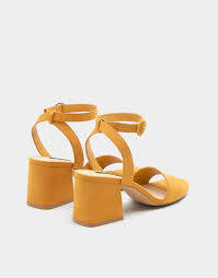 Poze Pull&Bear Yellow Sandals