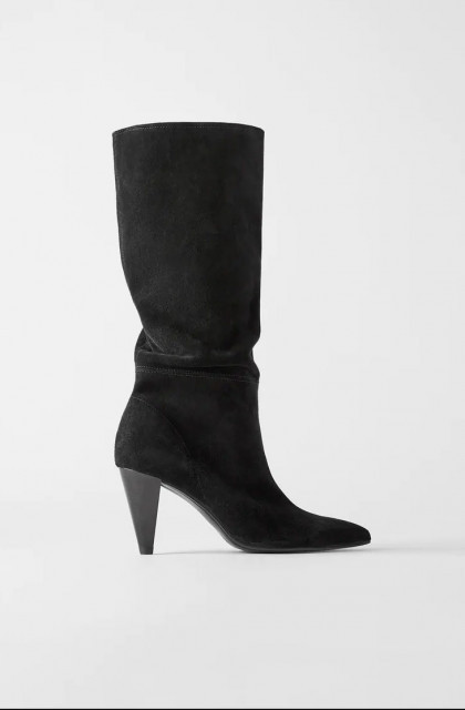 Zara Leather Pointed Toe