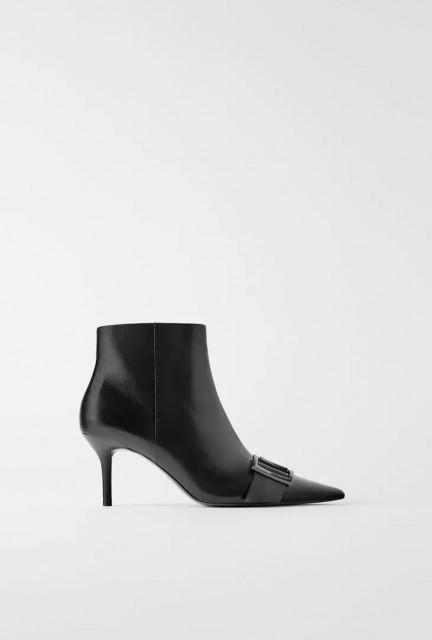 Zara LeatherStilettoBoots