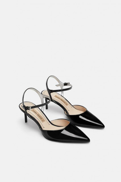 Poze Zara Over Ankle Heel