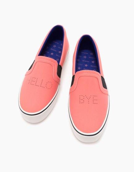 Poze Bershka CoralSneakers