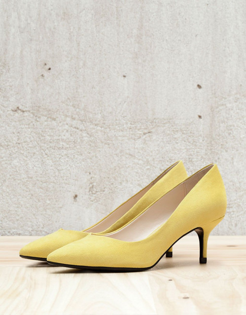 Poze Bershka YellowStiletto