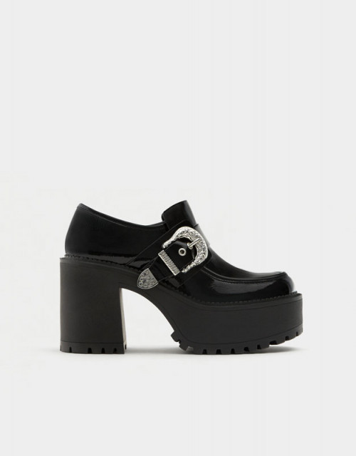 Poze Pull&Bear Derby Sole Shoes