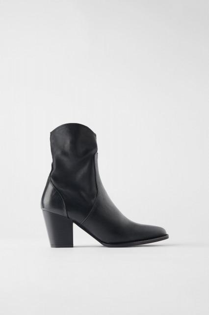 Zara Botin Cowboy Black