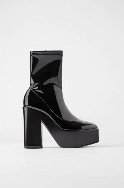 Zara Botin Noir