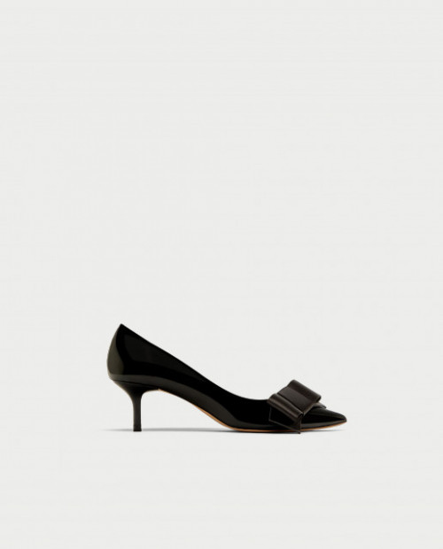 Poze Zara Bow Detail Heel