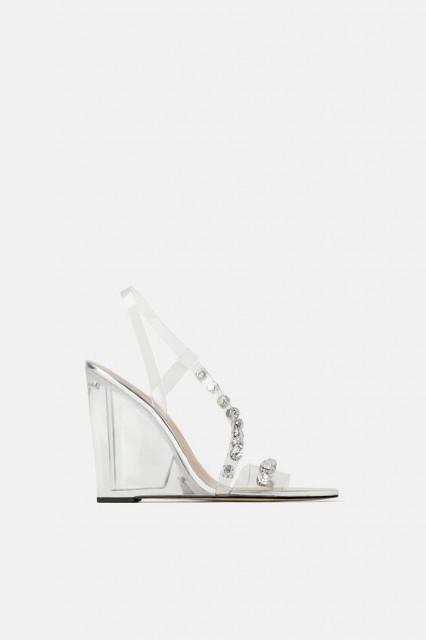 Zara GlassSandals