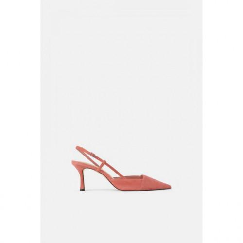 Poze Zara Leather Asimetric Heel