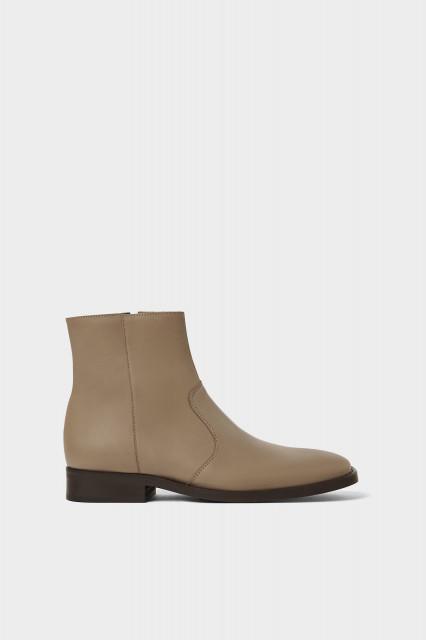 Poze Zara LeatherShoesTaupe