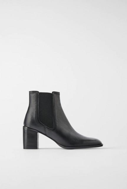 Poze Zara Strach Ankle Botin