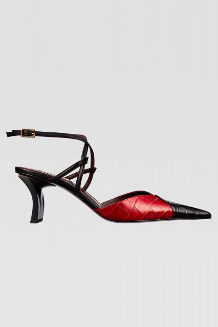 Poze Zara Croc Detail Heel