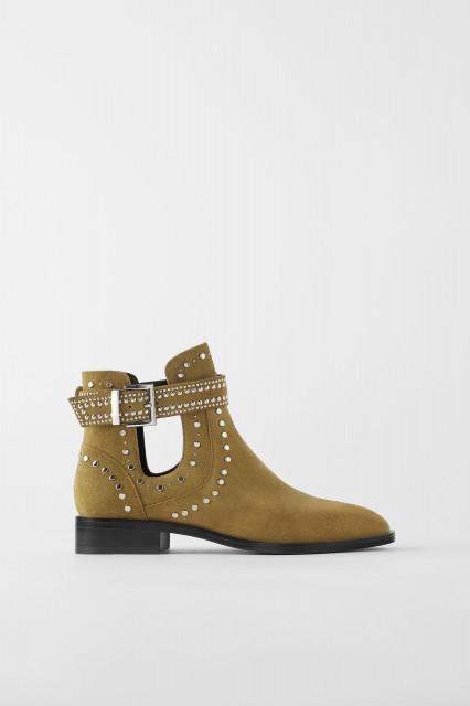 Zara Suede Split Leather