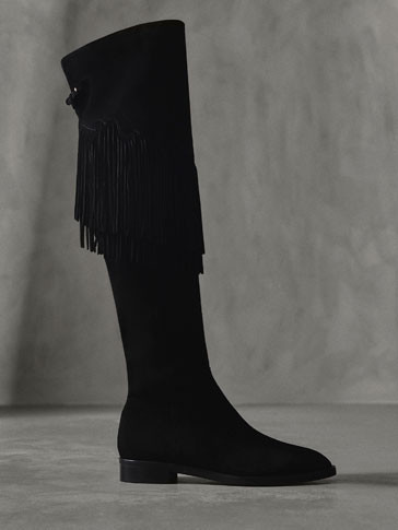 Massimo Dutti Bota Franja