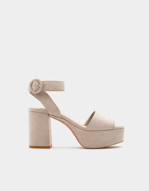 Poze Pull&Bear Grey Sandals