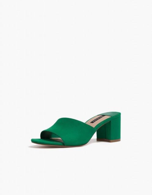 Poze Stradivarius Green Sandals