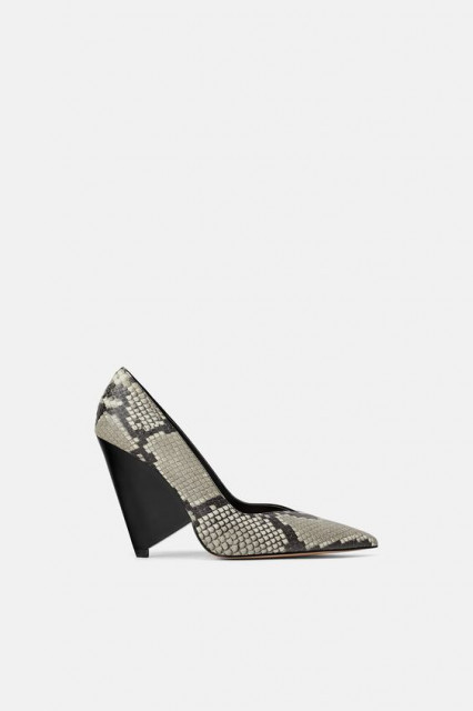 Zara CombinedLeatherShoes