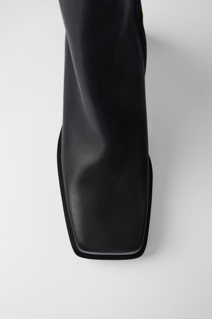 Poze Zara Leather Square Toes